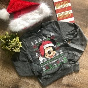🆕 Toddler🎄Mickey Mouse Christmas Sweater